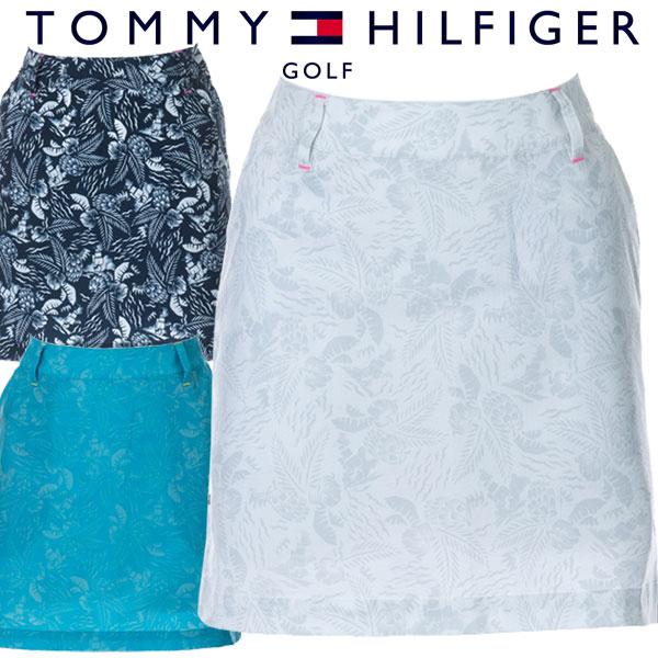 【あす楽対応】トミーヒルフィガー ゴルフウェア レディース ボタニカルスカート THLA038 2020春夏