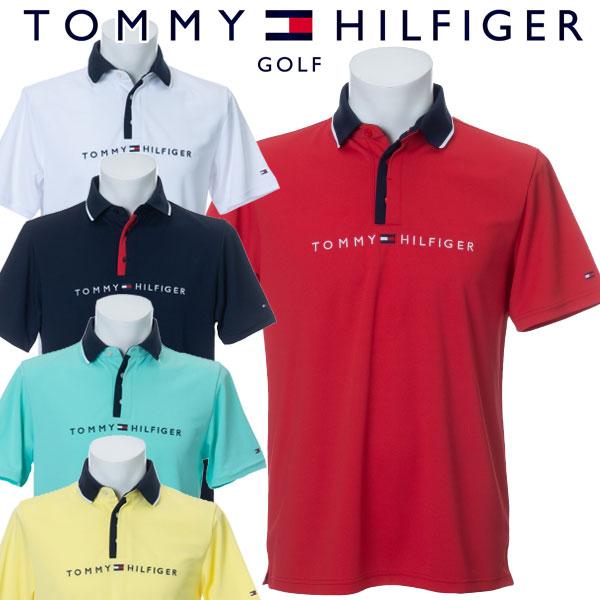 【メール便対応】【あす楽対応】トミーヒルフィガー ゴルフウェア メンズ コンビネーションカラーポロシャツ 半袖 THMA012 2020春夏