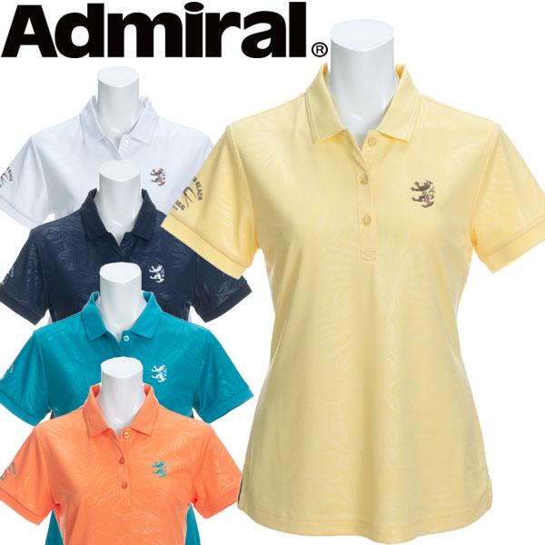 【メール便対応】【あす楽対応】アドミラル ゴルフウェア レディース 半袖ポロシャツ ADLA040 2020春夏