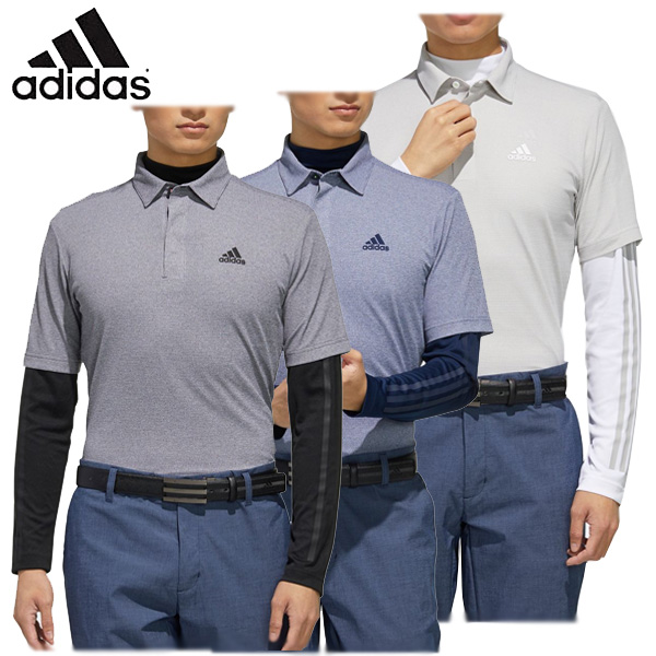 【あす楽対応】アディダス ゴルフウェア メンズ 半袖ポロシャツ 長袖インナーシャツ GLD31 2020春夏