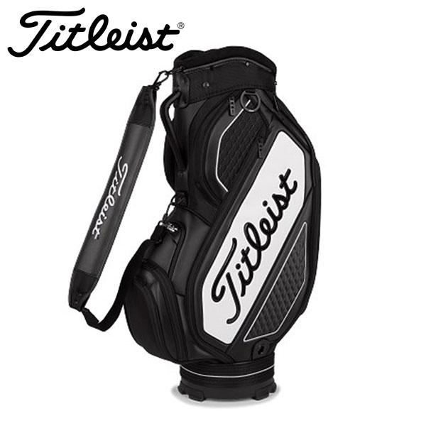 タイトリスト ゴルフ ジェットブラック ミッドサイズ キャディバッグ メンズ TB20SF4 2020モデル