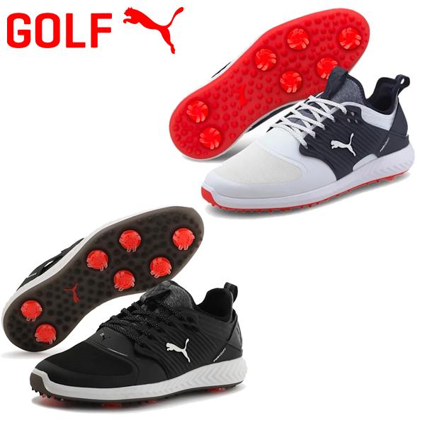 【あす楽対応】プーマ ゴルフ イグナイト パワーアダプト ケージド 192223 メンズ ゴルフシューズ 2020モデル ソフトスパイク
