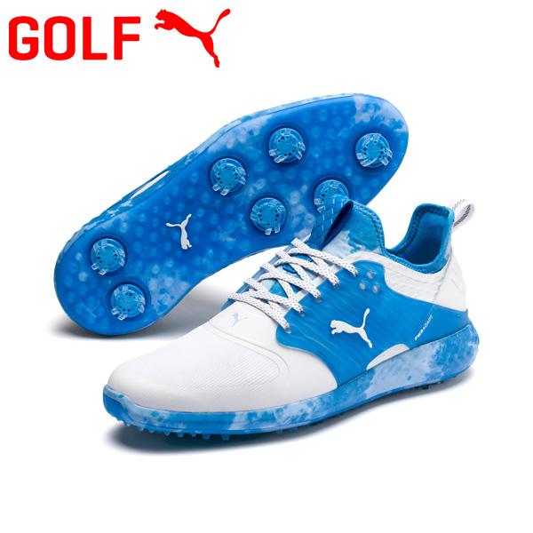 【あす楽対応】プーマ ゴルフ イグナイト パワーアダプト ケージド Love/Haight ゴルフシューズ メンズ 2020モデル ソフトスパイク