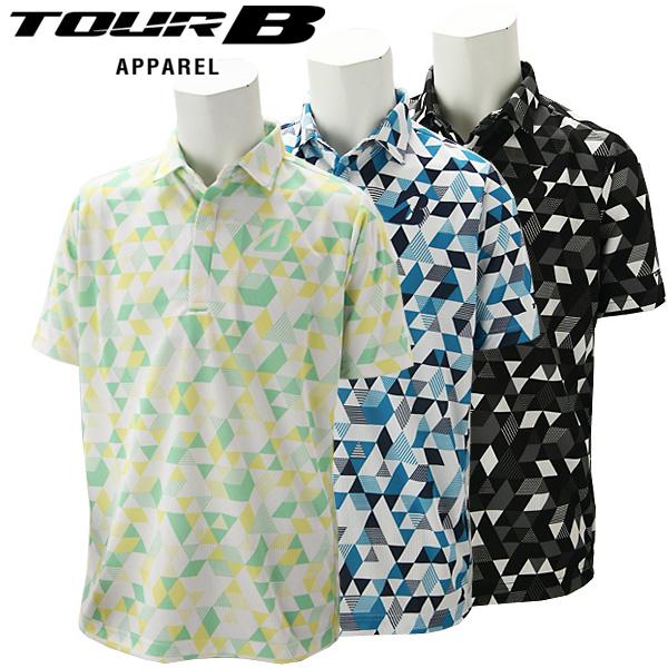 【あす楽対応】ブリヂストンゴルフ TOUR B ゴルフウェア メンズ 半袖シャツ 3GR03A 2020春夏