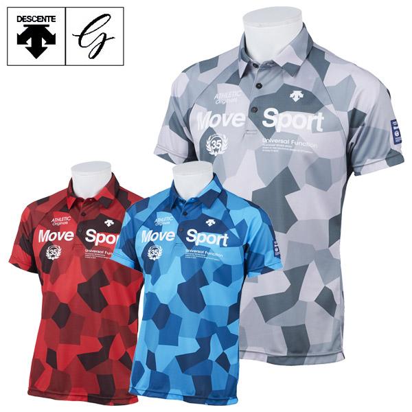 【あす楽対応】デサントゴルフ ゴルフウェア メンズ 半袖 ショートスリーブシャツ DGMPJA40 2020春夏