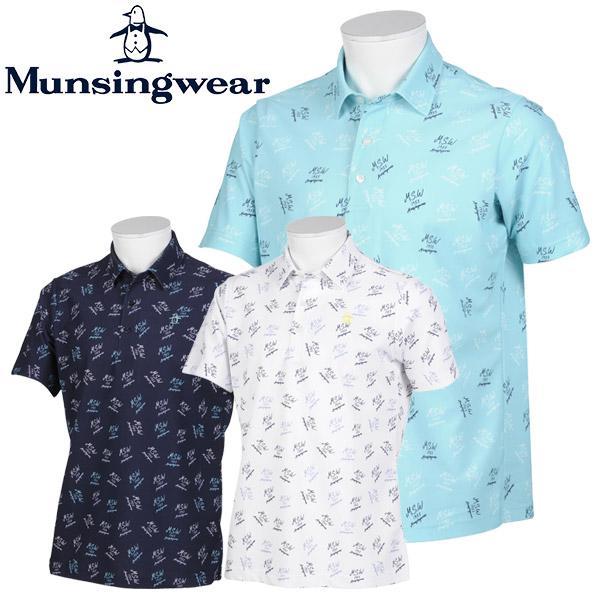 【あす楽対応】マンシングウェア ゴルフウェア メンズ 半袖ポロシャツ MGMPJA36 2020春夏