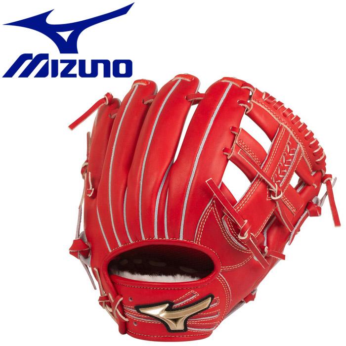 ミズノ 野球 ゴールデンエイジ硬式用 グローバルエリート HSelection02+ プラス 内野手用 サイズGA8 1AJGL2200370