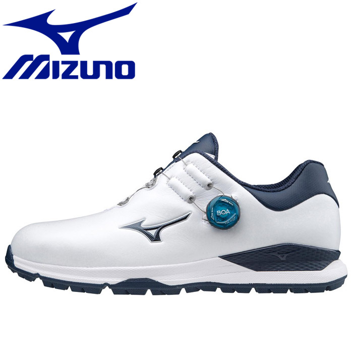 ミズノ ゴルフ ジェネム010スパイクレス ボア EEE ゴルフ  メンズ  51GM200014 シューズ:GZONEゴルフ
