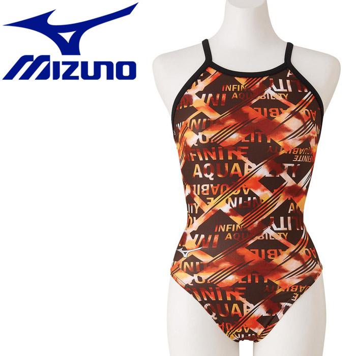 ミズノ スイム 競泳練習用ミディアムカット レディースN2MA028454sdBhQrCxt