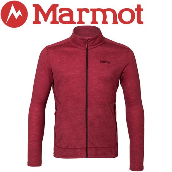 マーモット Climb Wool Zip Jacket ジャケット メンズ TOMLJB66-SRED