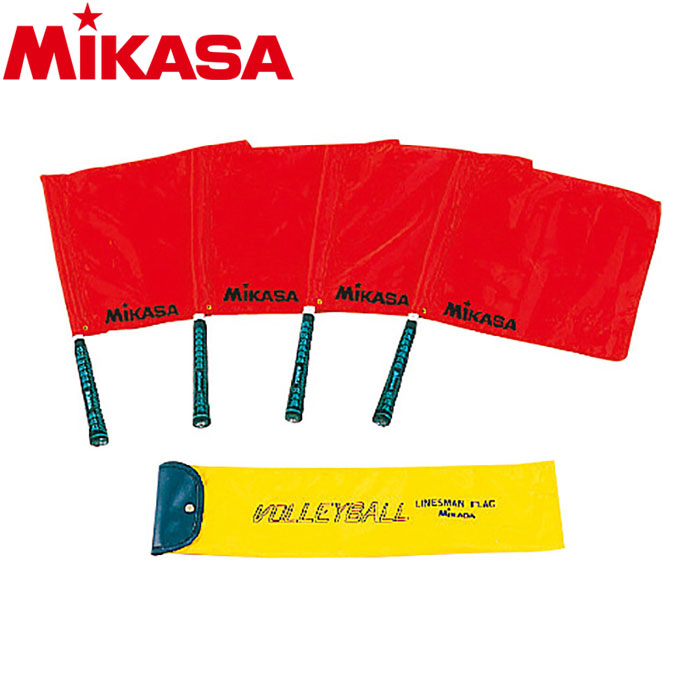 ミカサ ドッジボール用ラインズマンフラッグ BA-16-R 9191740