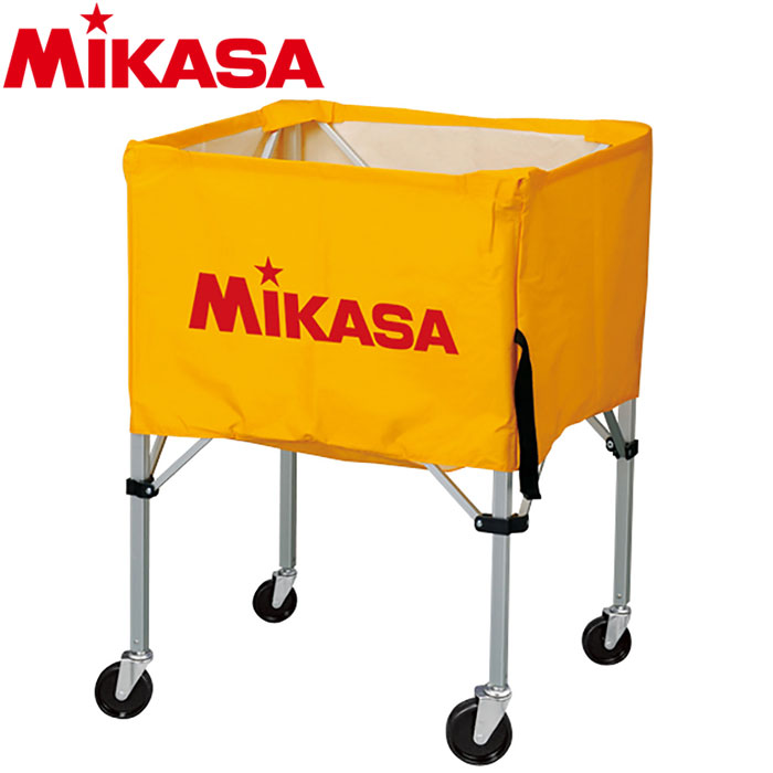 ミカサ バレーボール ボールカゴ 箱型 大 イエロー BC-SP-H-Y 9068002