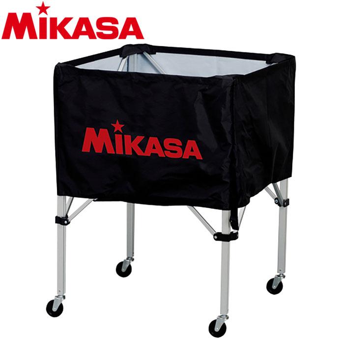 ミカサ バレーボール ボールカゴ 箱型 中 ブラック BC-SP-S-BK 9068015