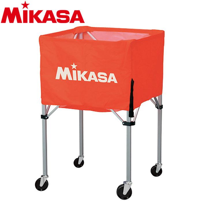 ミカサ バレーボール ボールカゴ 箱型 小 オレンジ BC-SP-SS-O 9068027
