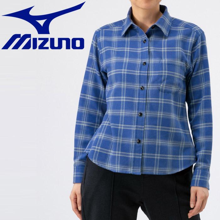 ミズノ アウトドア ブレスサーモ トラベルシャツ レディース B2MC970725