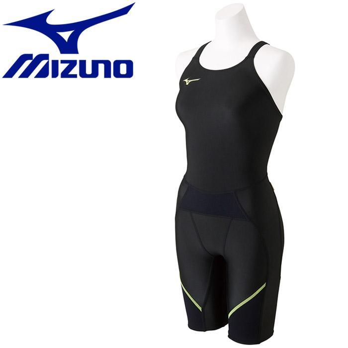 ミズノ 水泳 エクサースーツ バイオギア BG ハーフスーツ 水着 レディース N2MG777793 返品不可