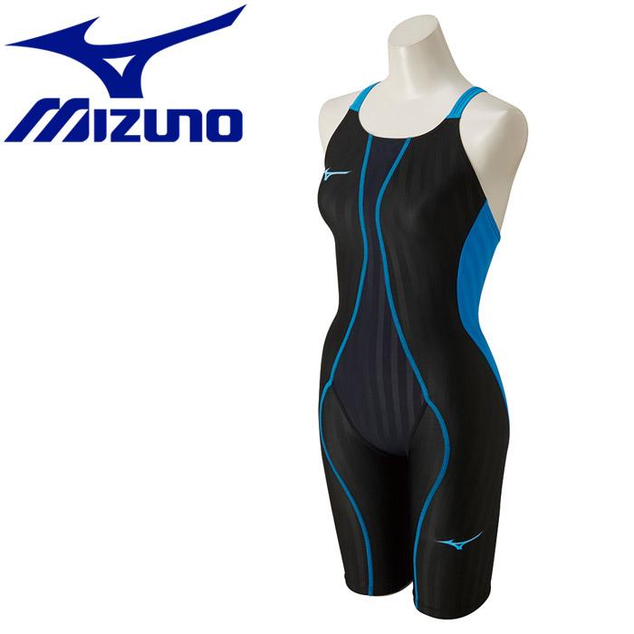 ミズノ 水泳 FX SONIC ハーフスーツ 水着 レディース ジュニア N2MG843091 返品不可