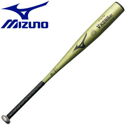ミズノ 野球 少年硬式用 ビクトリーステージ Vコング02 金属製 78cm 平均690g バット 2TL7158050N