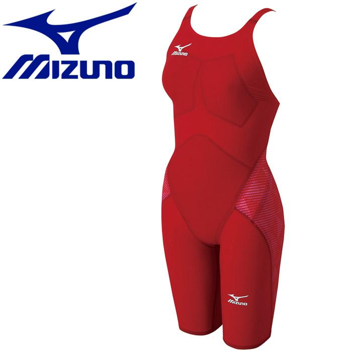 ミズノ 水泳 スイム 競泳用 GX・SONICIII ST ハーフスーツ 水着 レディース N2MG620162 【返品不可】