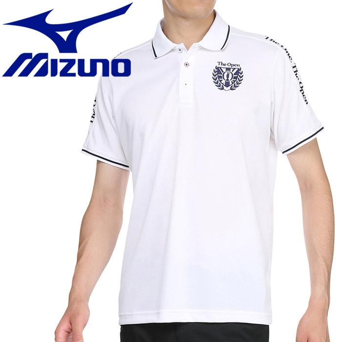 ミズノ ゴルフ アイスタッチ半袖シャツ ポロ衿 メンズ 52MA910401