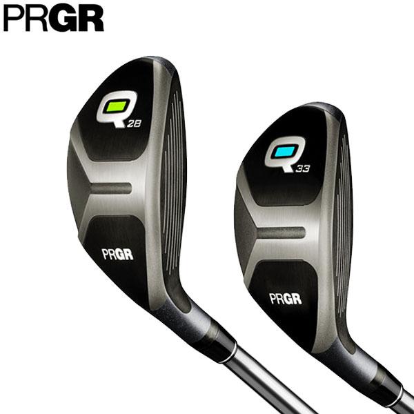 PRGR プロギア Q キュー ユーティリティ Q28、Q33 日本正規品 2018モデル