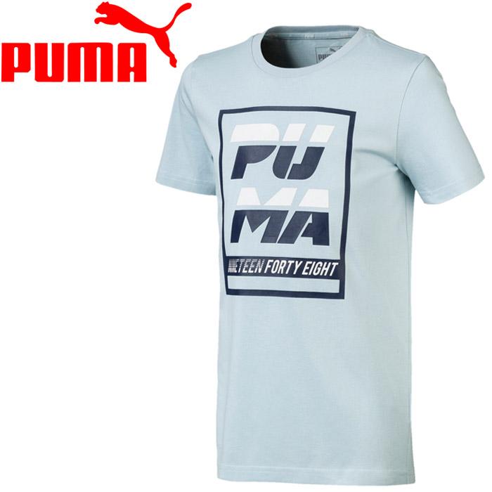 c54b2bb8 GZONE GOLF: Puma ALPHA SS graphic T-shirt youth 843,945-24   Rakuten ...