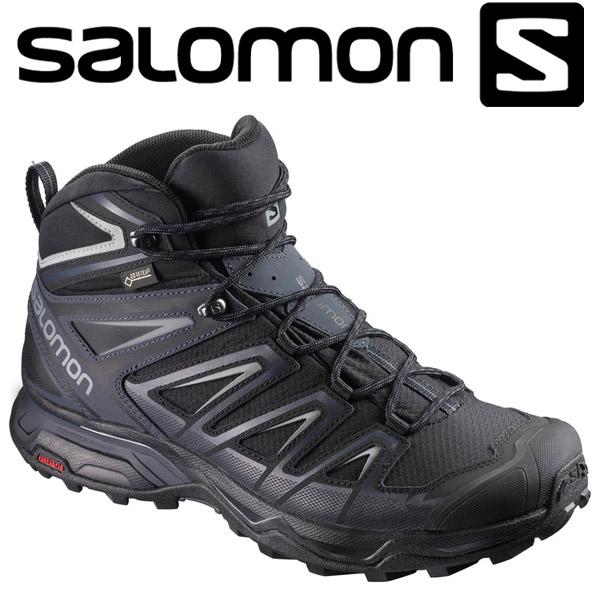 サロモン X ULTRA 3 MID GORE-TEX トレッキングシューズ メンズ L39867400