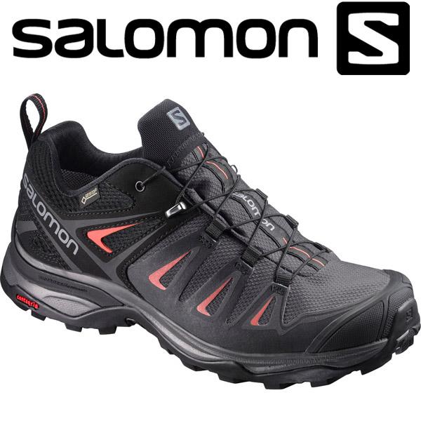サロモン X ULTRA 3 GORE-TEX W トレッキングシューズ レディース L39868500