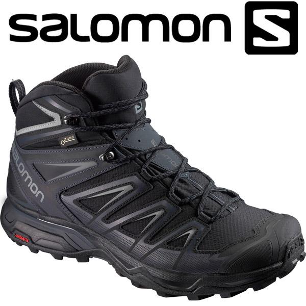 サロモン X ULTRA 3 WIDE MID GORE-TEX トレッキングシューズ メンズ L40129300
