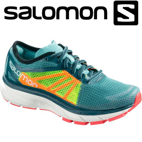 サロモン SONIC RA W ランニングシューズ レディース L40143800