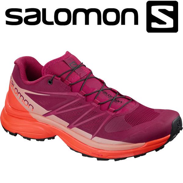 サロモン WINGS PRO 3 W トレイルランニングシューズ レディース L40147300