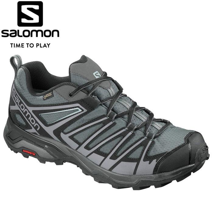 サロモン X ULTRA 3 PRIME GORE-TEX トレッキングシューズ メンズ L40246100