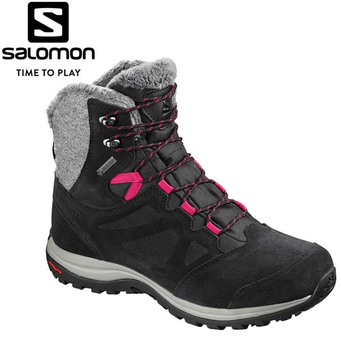 サロモン ELLIPSE WINTER GORE-TEX W ウィンター スノー シューズ レディース L40469900