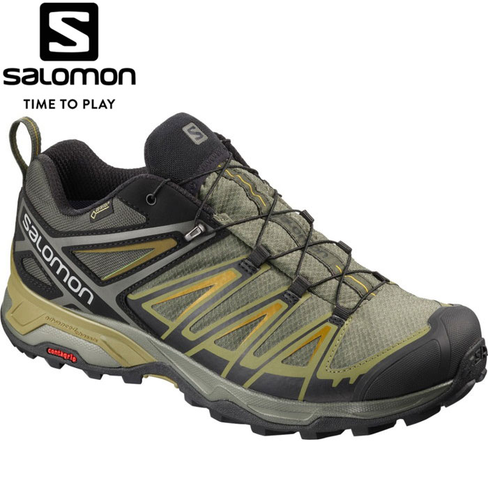 サロモン X ULTRA 3 WIDE GORE-TEX トレッキングシューズ メンズ L40589300