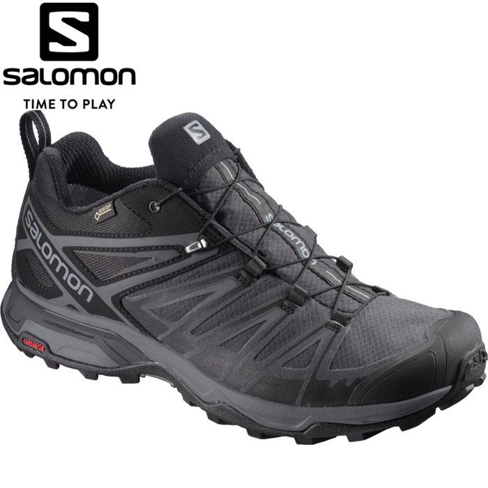 サロモン X ULTRA 3 WIDE GORE-TEX トレッキングシューズ メンズ L40659600