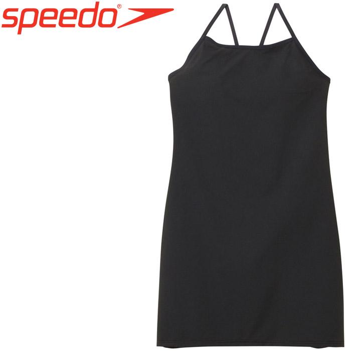 スピード 水泳 リファインドウーブンドレス 水着 レディース SFW91980-K
