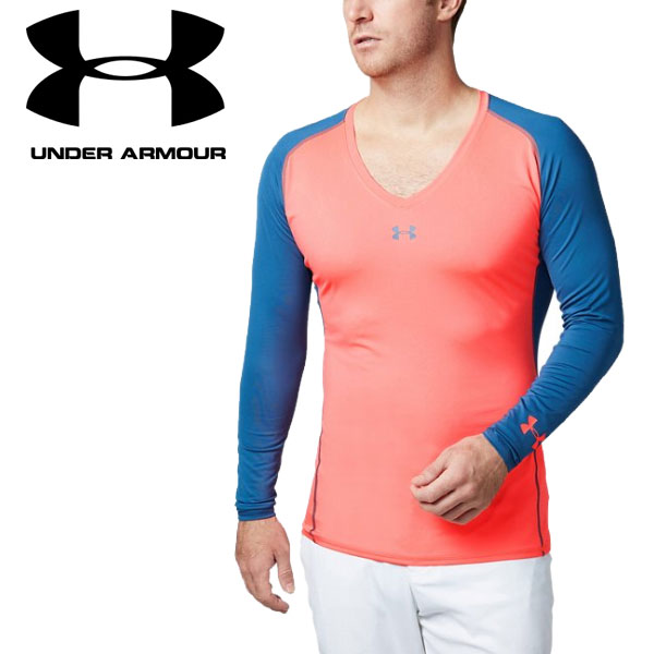 1a5bf723b 2019 under Armour golf wear long sleeves base layer UA cool switch Longus  Reeve V neck ...