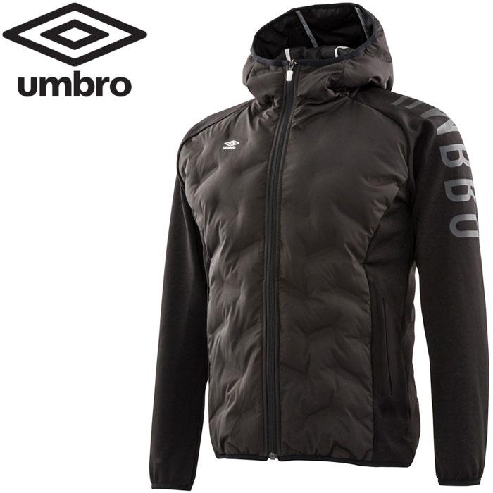 アンブロ URA.ハイブリッドインシュレーションジャケット メンズ UMUMJK35-BLK