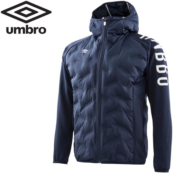 アンブロ URA.ハイブリッドインシュレーションジャケット メンズ UMUMJK35-NVY