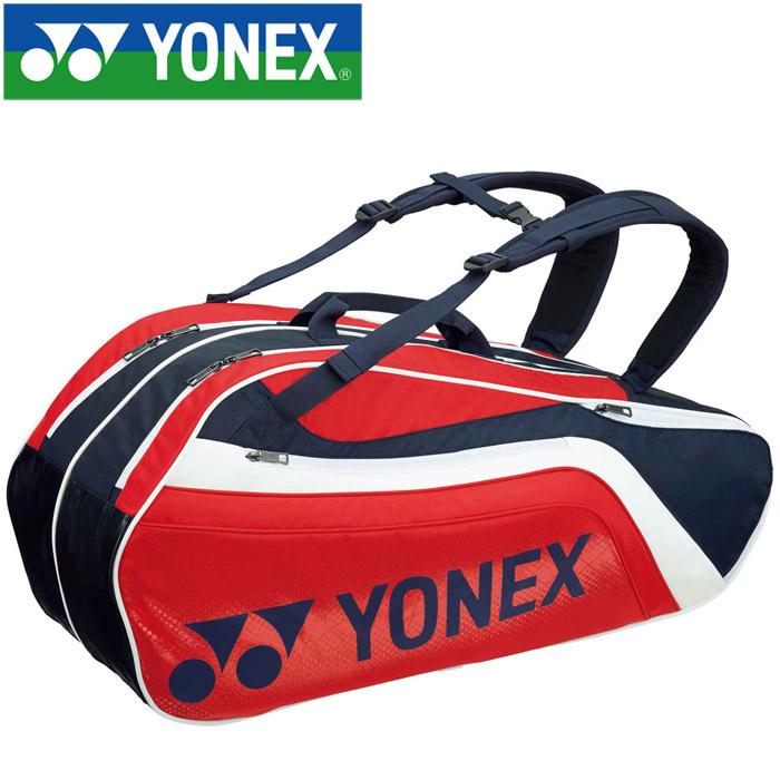 ヨネックス テニス ラケットバッグ6 リュック付き 6本用 BAG1812R-097