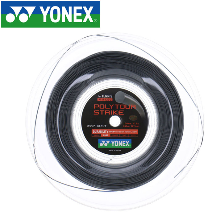 YONEX ヨネックス テニス ポリツアーストライク120 240M ストリング ガット PTST1202-405
