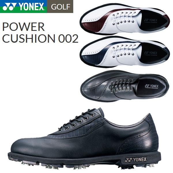 【あす楽対応】 ヨネックス ゴルフシューズ メンズ パワークッション 002 SHG-002 ソフトスパイク