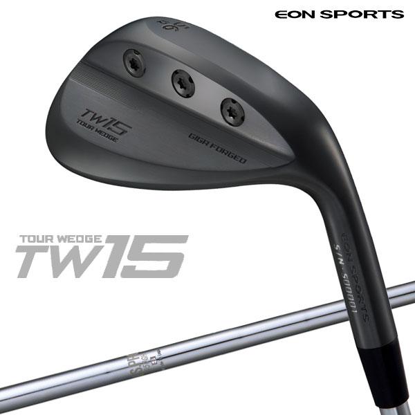 【期間限定】【あす楽対応】イオンスポーツ ゴルフ TW15 ギガ フォージド ウェッジ ブラックIPモデル Tour Wedge 15