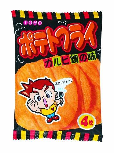 与え 東豊製菓 ポテトフライ 11g×20袋 年中無休 カルビ味