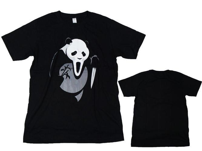 有趣的 T 恤,抢断了熊猫插图 T 衬衫印刷 T 恤,休闲 T 恤图形 T 恤,gag T 衬衫戏仿 T 衬衫-男士 t 恤,面对白色 t 恤