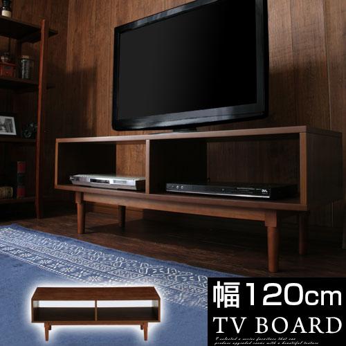 リビングボード 木製 テレビ台 ローボード 天然木 薄型テレビ台 TVボード 送料無料 tv台 AVボード リビング収納 ラック 棚 ロータイプ 幅120cm 薄型 スリム 壁面 テレビボード 42インチ 32v 40型 テレビラック ロー 北欧 シンプル おしゃれ