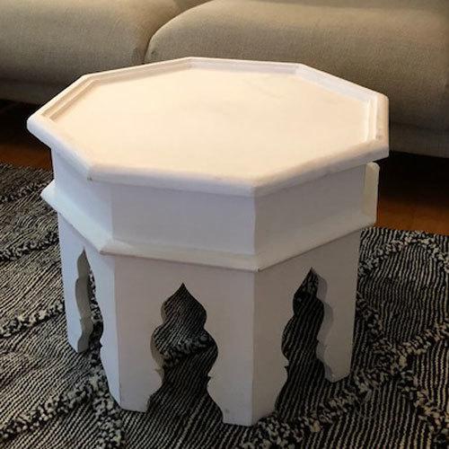 おしゃれなサイドテーブル 八角形