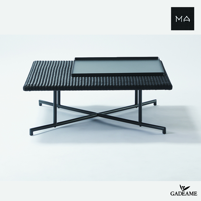 ガーデンファニチャー MA-LOW TABLE〈MA-ローテーブル セット〉PATIO PETITEモダンデザイン シンプルデザイン 屋外ファニチャー 屋外家具 アウトドアファニチャー リゾート家具