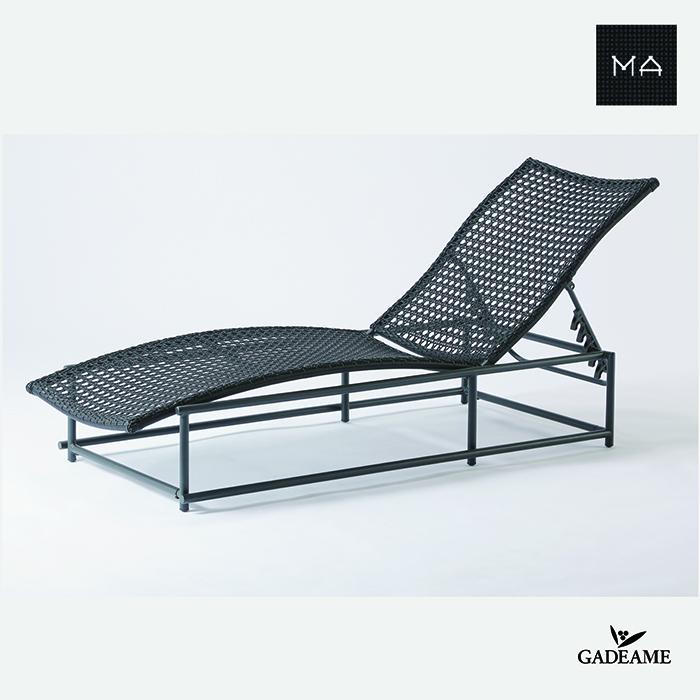 ガーデンファニチャー MA-BED〈MA-ベッド〉PATIO PETITEモダンデザイン シンプルデザイン 屋外ファニチャー 屋外家具 アウトドアファニチャー リゾート家具