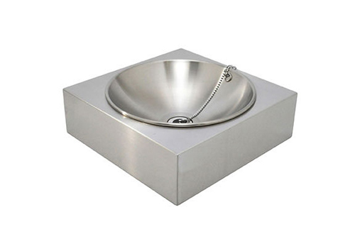 SENSUI 泉水 ガーデンパン アールパンSスクエアー ヘアライン 品番:413 シンプル